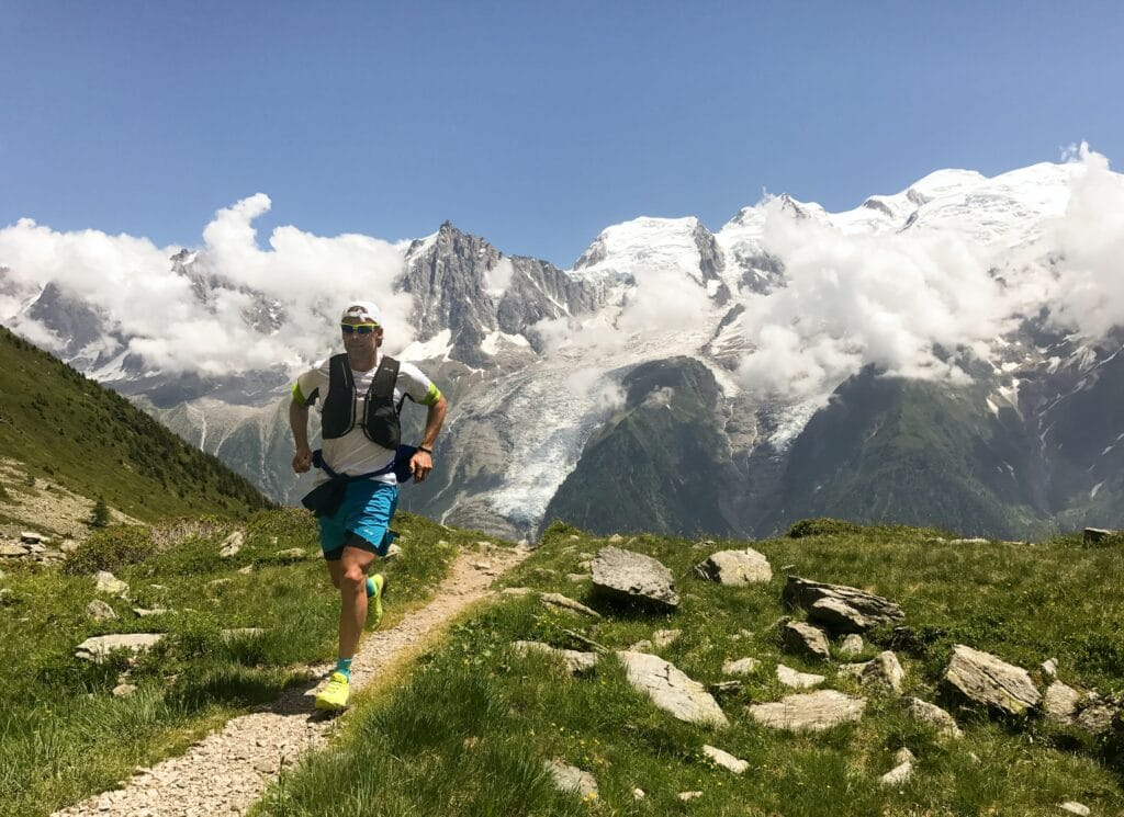 Trail Runner with gear